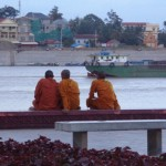 Peaceful Monks