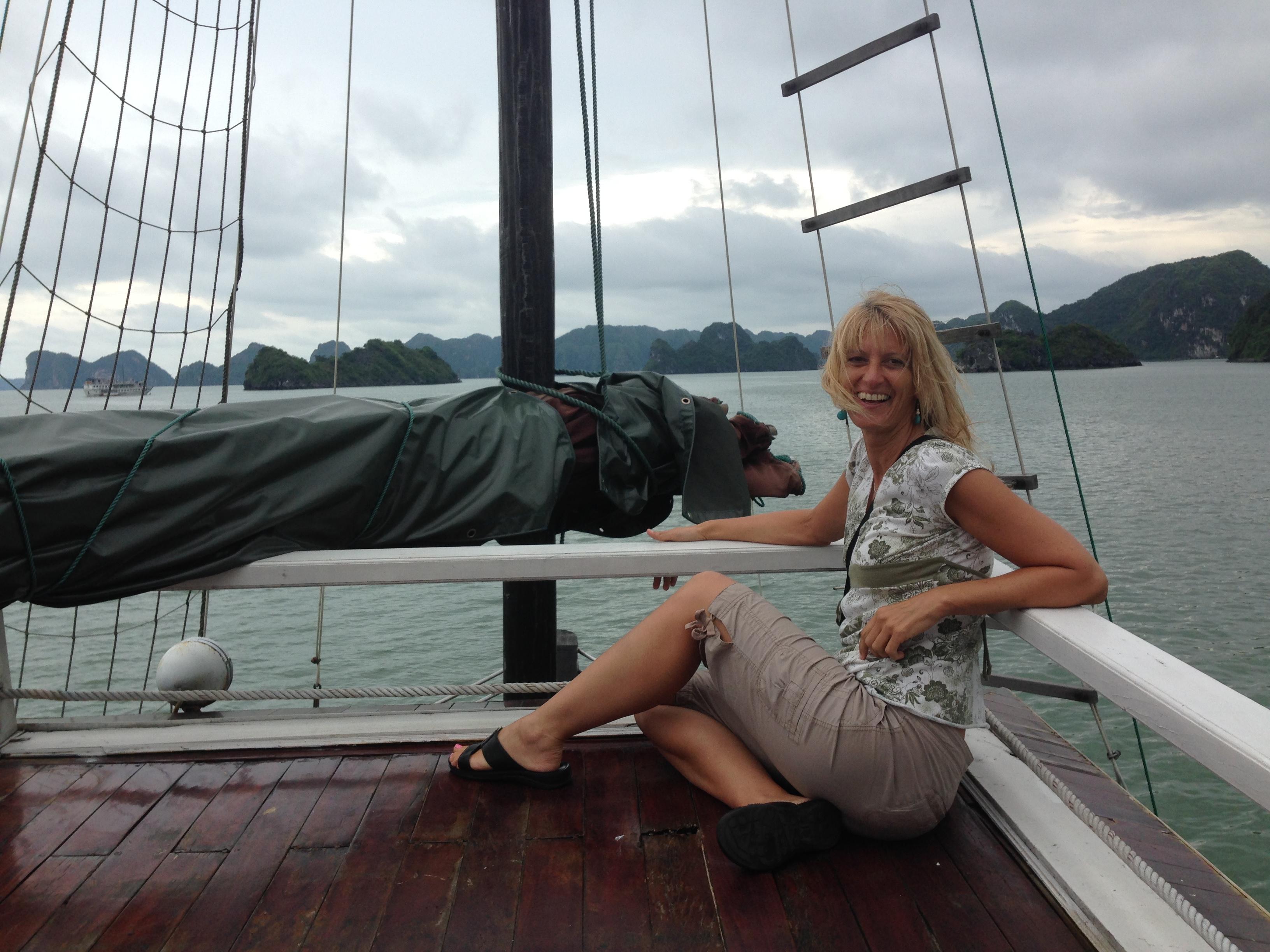 Karin cruising............
