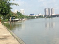 The river through Saigon