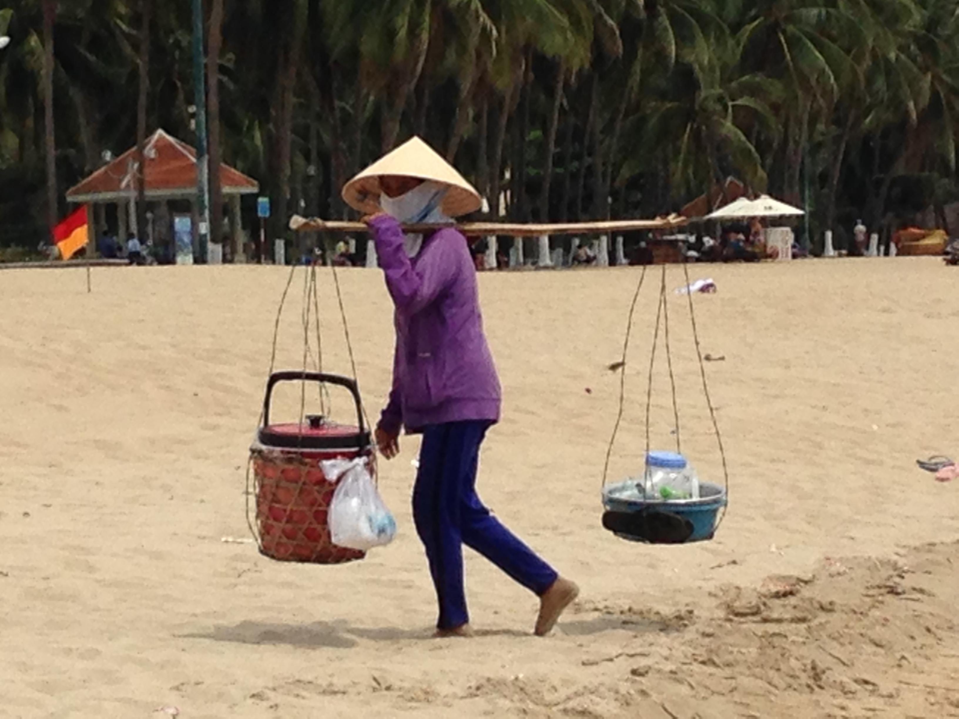 beach scenery...talking about balance